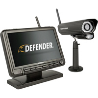 Defender Wireless DVR Security System with 1 Digital Camera, LCD Monitor, Model# PhoenixM2