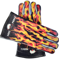 Save Phace Welding Gloves — L/XL, Fired Up Pattern, Model# 3012398