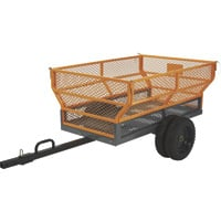FREE SHIPPING — Bannon Utility Trailer — 1,400-Lb. Capacity, 24 Cu. Ft.