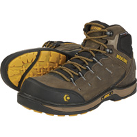 Wolverine Men's Edge LX Waterproof Safety Toe 5 1/2in. Work Boots — Taupe/Yellow, Model# W10554