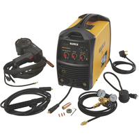 FREE SHIPPING — Klutch 200DV Dual-Voltage Inverter-Powered Multi-Process Welder with Spool Gun — 120V/230V