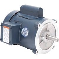 Leeson General Purpose Electric Motor — 3/4 HP, 1800 RPM, 115/208–230 Volts, Single Phase, Model# C6C17FC6