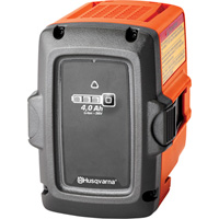 Husqvarna 40V Lithium-Ion Replacement Battery — 4Ah, Fits Husqvarna 100 Series Machines, Model# BLi20
