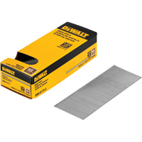 DEWALT 18-Gauge 1 3/4in. Brad Nails —  2500 Nails, Model# DBN18175-2