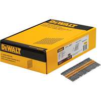 DEWALT 3in. x 0.131in. 21° Round Head Nails  — 2000 Nails, Model# DWRHS10D131