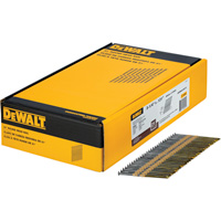 DEWALT 3 1/4in. x 0.131in. 21° Round Head Nails  — 2000 Nails, Model# DWRHS12D131