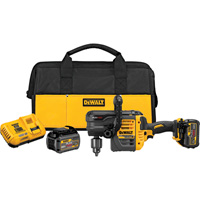 FREE SHIPPING — DEWALT FLEXVOLT 60 Volt MAX Brushless Stud and Joist Drill Kit — 2 FLEXVOLT Batteries, Model# DCD460T2