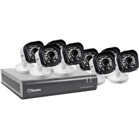 Swann Communications High-Definition DVR Security System — 8 Channels/8 Cameras, Model# SWDVK-8720P8-US