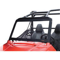 Classic Accessories QuadGear UTV Windshield — Fits Polaris RZR, Black, Model# 18-012-010401-00