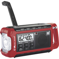 Midland NOAA Emergency Crank Radio — Model# ER210