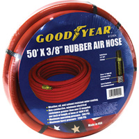 Goodyear Variflex Rubber Air Hose — 3/8in. x 50ft., Red, Model# 12904