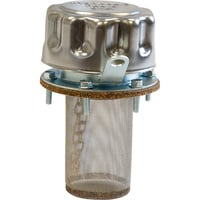 Buyers Hydraulic Filler-Strainer Breather Cap with Locking Tab — 40 Micron Filtration, Model# TFA005715L