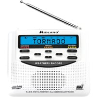 Midland Clam Shell 120 Weather Radio — Model# WR120C