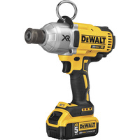 FREE SHIPPING — DEWALT 20 Volt MAX XR Brushless High Torque 7/16in. Impact Wrench With Quick Release Chuck Kit — 2 Lithium-Ion Batteries, Charger, Model# DCF898P2