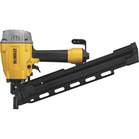 DEWALT 21° Plastic Collated Air Framing Nailer, Model# DWF83PL