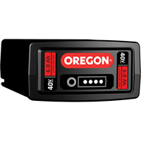 Oregon Power On 40 Volt MAX Li-ion Battery Pack — 6.0Ah/216 Watt, Model# B650E