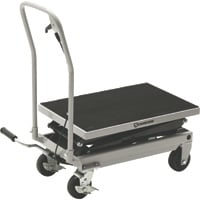 Strongway 2-Speed Hydraulic Rapid Lift XT Table Cart — 500-Lb. Capacity