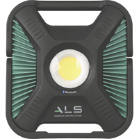 ALS High-Efficiency Rechargeable COB LED Light with Bluetooth — Battery Powered, 1200 to 6000 Lumens, Model# AL60-4000-01