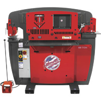 FREE SHIPPING — Edwards JAWS 65-Ton Ironworker — 3-Phase, 230 Volt, Model# IW65-3P230