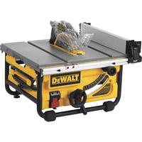 FREE SHIPPING — DEWALT 10in. Jobsite Table Saw with Site-Pro Modular Guarding System — 24in. Rip Capacity, Model# DWE7480