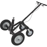 Ultra-Tow Heavy-Duty Adjustable Trailer Dolly with Brake — 1200-Lb. Capacity