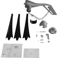 Primus Wind Power Air 40 Wind Turbine and Control Panel Kit — 24 Volts, Model# 1-AR40CP-KIT-24