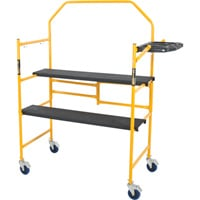 Jobsite Series 4ft. Folding Scaffold — 500-Lb. Capacity, Model# I-IMCNT