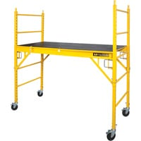 Metaltech Jobsite Series 6ft. Rolling Perry-Style Scaffold — 1250-Lb. Capacity, Model# I-CISCPY