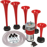 5-Trumpet La Cucaracha Air Horn Set