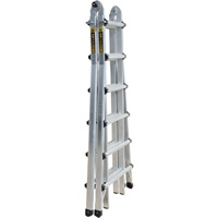 Metaltech 25ft. Telescoping Type 1A Multi-Position Ladder, Model# E-MTL7300AL