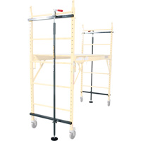 Metaltech Scafflock 6ft. Safety Brakes — Pair, Model# I-ISL