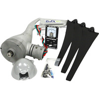 Primus Wind Power Air 40 Wind Turbine, Control Panel Kit and Tower Kit — 12 Volts, Model# 1-AR40TW45-KIT-12