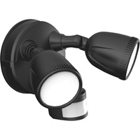 First Alert Motion Activated Dual Head LED Security Light — 1200 Lumens, Model# 1G1200M PB