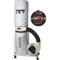 FREE SHIPPING — JET Dust Collector, Model# DC-1100VX-BK