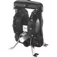 FREE SHIPPING — ARO Air-Operated Double Diaphragm Fuel Transfer Pump — 2in. Ports, 105 GPM, Aluminum/Acetal/Viton, Model# 650719-C