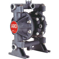 FREE SHIPPING — ARO Air-Operated Double Diaphragm Oil Pump — 1/2in. Ports, 13 GPM, Groundable Acetal/Nitrile, Model# 666056-622