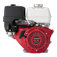 Honda Horizontal OHV Engine with 6:1 Gear Reduction for Cement Mixers – 389cc, 1in. x 3 5/32in. Shaft, Model# GX390UT2HA2