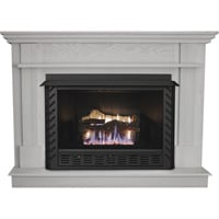 Ashley Hearth Products Fireplace Mantel —White, Model# AG34MK-W