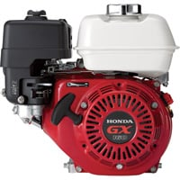Honda Horizontal OHV Engine with 6:1 Gear Reduction for Cement Mixers — 163cc, GX Series, 3/4in. x 1 31/32in. Shaft, Model# GX160UT2HX2
