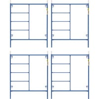 Metaltech Saferstack 6ft. x 5ft. Mason Frame — 4-Pack, Model# M-MF7260PSK4