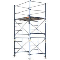Metaltech Saferstack 5ft. x 7ft. x 10ft. Fixed Scaffold Tower Kit — Model# M-MFT5710