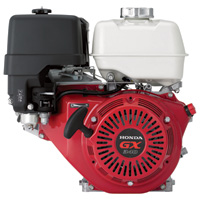 Honda Horizontal OHV Engine with 6:1 Gear Reduction for Cement Mixers — 389cc, GX Series, 1in. x 3 5/32in. Shaft, Model# GX340UT2HA2