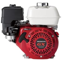 Honda GX Series Horizontal OHV Engine — 196cc, 3/4in. x 2 7/16in. Shaft, Model# GX200UT2QX2