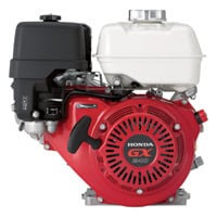 Honda Horizontal OHV Engine with 6:1 Gear Reduction for Cement Mixers — 270cc, 1in. x 3 5/32in. Shaft, Model# GX240UT2HA2