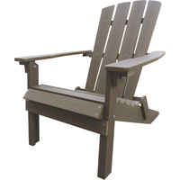 Stonegate Designs Folding Resin Adirondack Chair — Chocolate, Model# 31396-H
