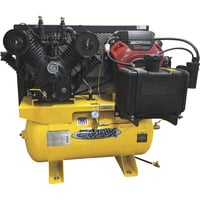 FREE SHIPPING — EMAX Industrial Plus 18 HP, 2-Stage, 60-Gallon, Horizontal Gasoline Air Compressor — Model# EGES1860ST