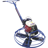 FREE SHIPPING — Marshalltown Cyclone Power Trowel Machine — 46in., 9HP, without Lift Hook, Model# 46E9NH