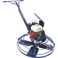 FREE SHIPPING — Marshalltown Cyclone Power Trowel Machine — 46in., 9HP, With Lift Hook, Model# 46E11