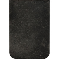 Buyers Products Heavy-Duty Rubber Semi-Truck Mud Flaps — Pair, 24in.W x 20in.L, Model# B2420LSP
