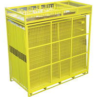 Jewett Cameron Perimeter Patrol 29-Panel, Full Pallet Fencing Assembly — 7 1/2ft. x 6ft. Panels, Model# RF 12806